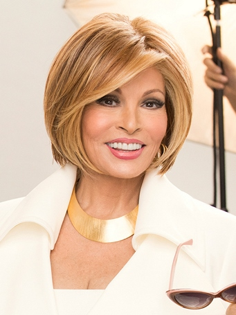 Straight Up With<br>A Twist Wig<br>Lace Front-Mono Top<br>Heat Friendly<br>Raquel Welch