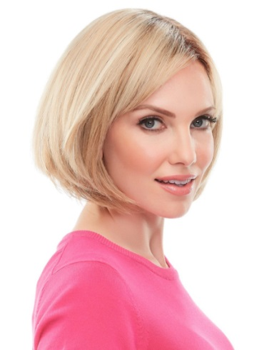 Top This 8&quot; Elite<br>Remy Human Hair Piece<br>Mono Top<br>Jon Renau