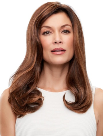 Top Form French 18<br>Remy Human Hair piece<br>Mono Top<br>Jon Renau