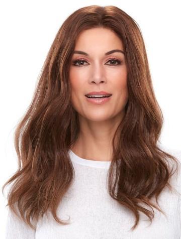 Top Smart 18<br>Human Hair<br>Lace Front Mono Top<br>Jon Renau