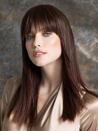 True Hairpiece/Bangs<br>Human Hair/Heat Friendly Synthetic<br>Ellen Wille