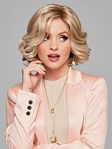 Twirl & Curl Wig<br>Lace Front-Mono Part<br>by Eva Gabor