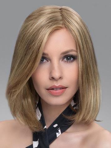 Vario Top Piece<br>Lace Front Hand Tied<br>Human Hair/HeatFriendly Synthetic<br>Ellen Wille