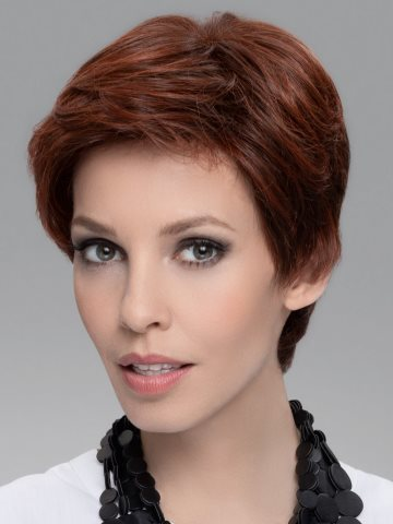 Encore Wig<br>Human Hair/Heat Friendly Synthetic<br>Lace Front-Hand Tied<br>Ellen Wille