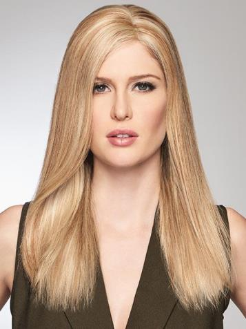 Game Changer<br>Mono Top Piece<br>Hand Tied<br>Human Hair<br>Raquel Welch