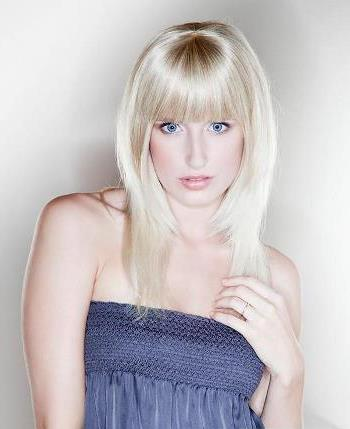 Human Hair Bangs<br>Hair Affair by New Image