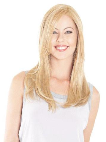 Lace Front Mono Top 18<br>Straight Top Piece<br>Heat Friendly<br>Belle Tress