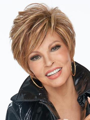 On Your Game Wig<br>Lace Front-Mono Part<br>Heat Friendly<br>Raquel Welch
