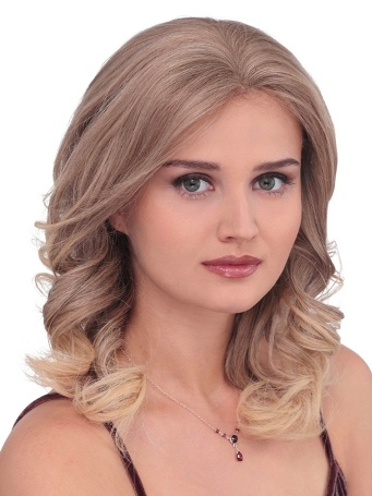PLF007HM Wig<br>Human Hair<br>Lace Front-Full Hand Tied<br>Louis Ferre
