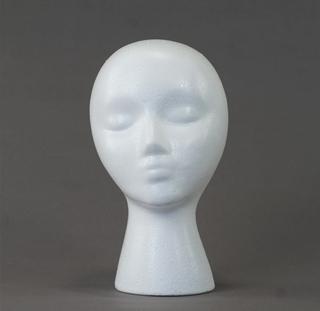 Styrofoam Head Wig Stand